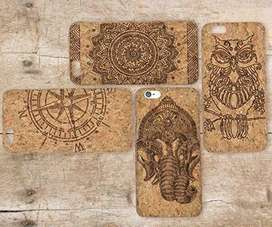 Real Crock wood iphone cover ,