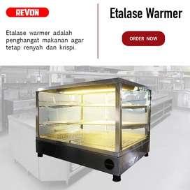 Etalase Warmer Fried Chicken Hemat Listrik Harga Murah