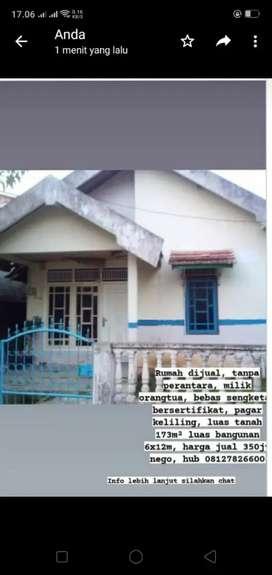1 Unit rumah di jual