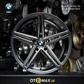 Velg Mobil BMW 3180 Ring 18 Hyper Black