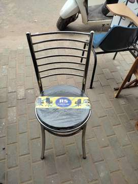 Dining steel chair. Strong and durable