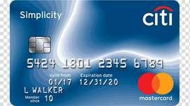 Home based Credit Card DSA