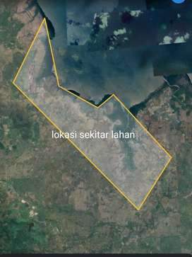 850 hektar Ngompleks Tanah Tambak Plampang Sumbawa Mr. LBS