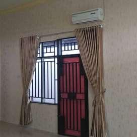 Dekorasi gorden hordeng tirai wallpaper home industri