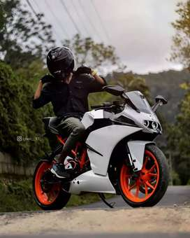KTM RC 200 bike rent | Bike delivery available All over  Hyd