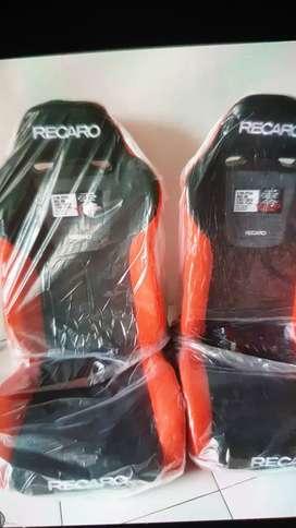 Jok Racing merah hitam Recaro top fuel bride plus bonus rell 1pasang