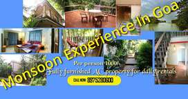 Experience Monsoon In Goa