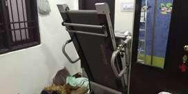 Treadmill and massager