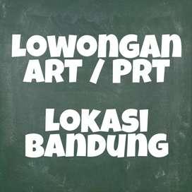 Lowongan ART / PRT Bandung Untuk 2 Orang