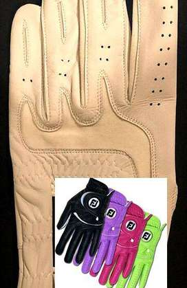Pack of 5 Men golf gloves Cabretta leather palm Wales Scotland Union J