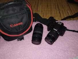 Canon EOS 1000D + Tele lens 75-300 MM