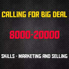 Sell products by Calls