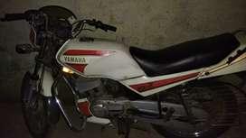Yamaha RXZ 99 2 stroke sports model