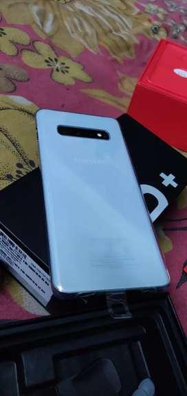 Samsung Galaxy s10+ whit