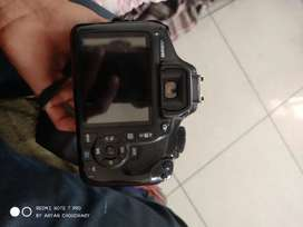 Canon 1300D double lens camera