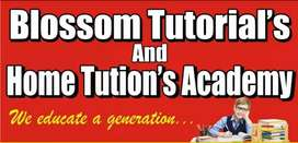 Required male/female home tutor.