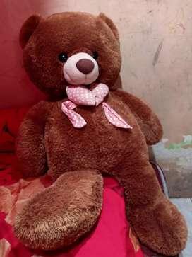 Boneka Teddy bear coklat