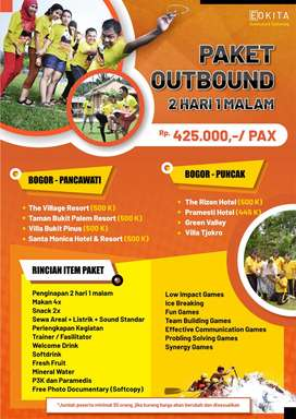 Paket Outbound/Outing/Gathering