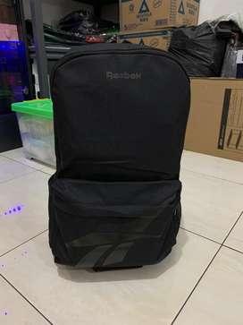 Tas Casual Reebok Classic Vector Backpack Black Original BP905A
