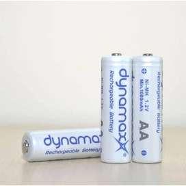 Batre/Baterai Cas/Charge - Rechargeable Battery Dynamax AA-A2 1000mAh