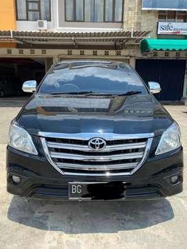 Toyota Innova 2014 tipe G 2.5 (Diesel) M/T km 94rb