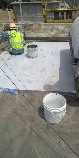 roof waterproofing services(rcs) roof heat proofing treatment