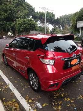 Toyota yaris trd sportivo metik 2016..plat h asli..istimewa