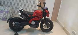 Electric bike model KTM