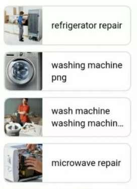 Washing machine fridge ac cooktop induction