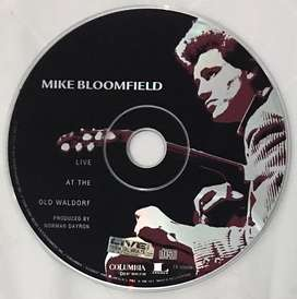CD audio ori Mike Bloomfield Live at The Waldorf (blues - no box)