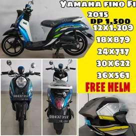 Yamaha Fino Fi 2015 ( Bisa Kredit)