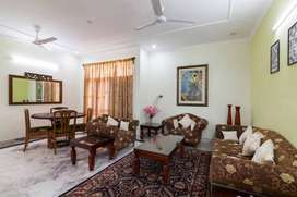 Furnished Apartment on Lease for salaried small family
