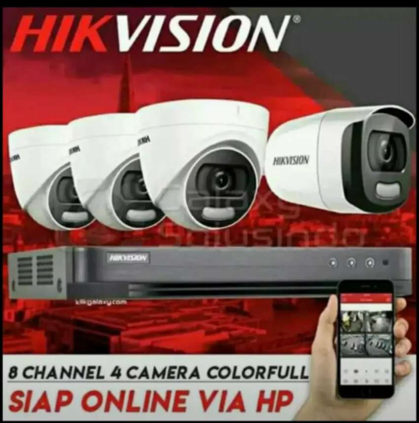 Paket kamera cctv online siap antar gratis pemasangan