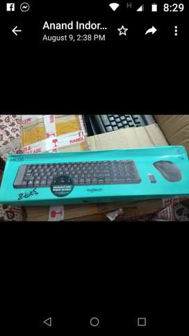 Wireless keyboard mouse set