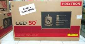 (CASH&CREDIT) TV LED POLYTRON 50inch 50S883