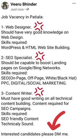 Web Designer | SEO Specialist | Content Writer