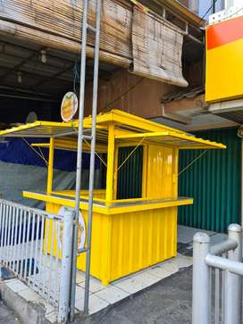 Booth Container Bekas