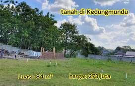 Tanah kavling Strategis kedungmundu Tembalang, dekat jalan raya