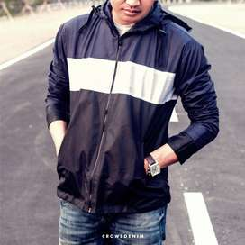 Jaket Hoodie Pria Comby Parachute Style - SK88