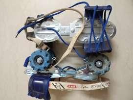 Roller Skates - Blue, adjustable, highly durable