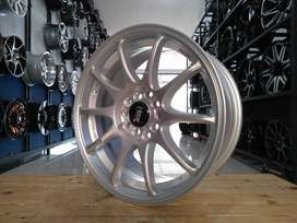 velg HSR INDY ring16 h10x100/114,3 For ertiga grandmax dll
