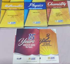 Allen Coaching JEE Main All book concept+question