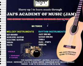 JAI'S ACADEMY OF MUSIC