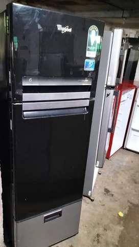 Whirlpool 3door good working refrigerator