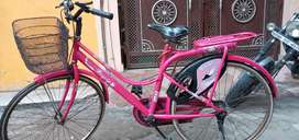 Girls cycle