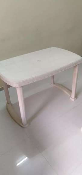 Plastic Table with chairs