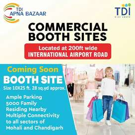 Tdi City Shop sites 10x25 for sale Mohali