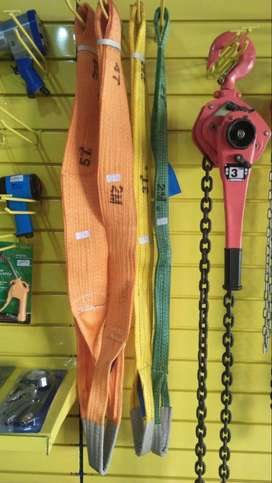 Lifting strap Specifications Flat 5T*2M*125MM Material Polyester