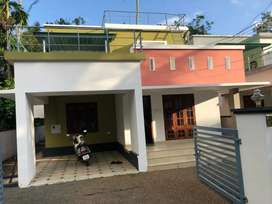 In Thiruvalla, Manakkachera,Semi furnished villa for rent