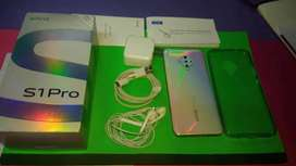Vivo S1 pro.mobilr phone never used